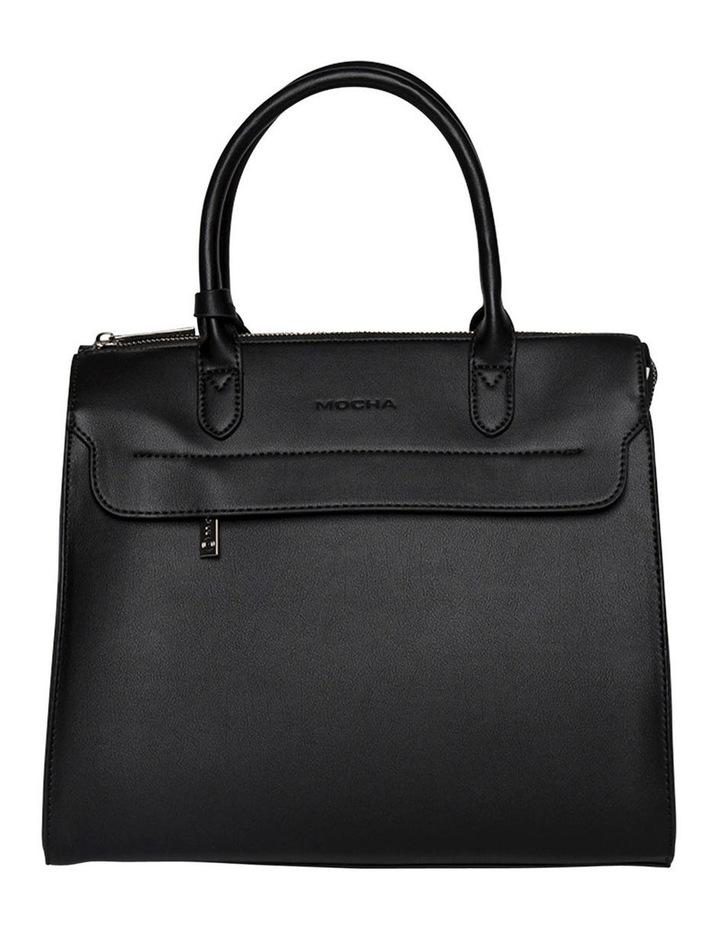 Constance Top Handle Crossbody Bag - Black image 1