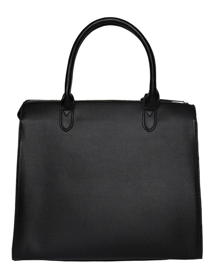 Constance Top Handle Crossbody Bag - Black image 3