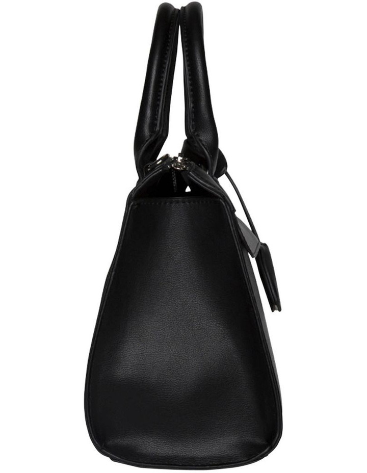Constance Top Handle Crossbody Bag - Black image 4