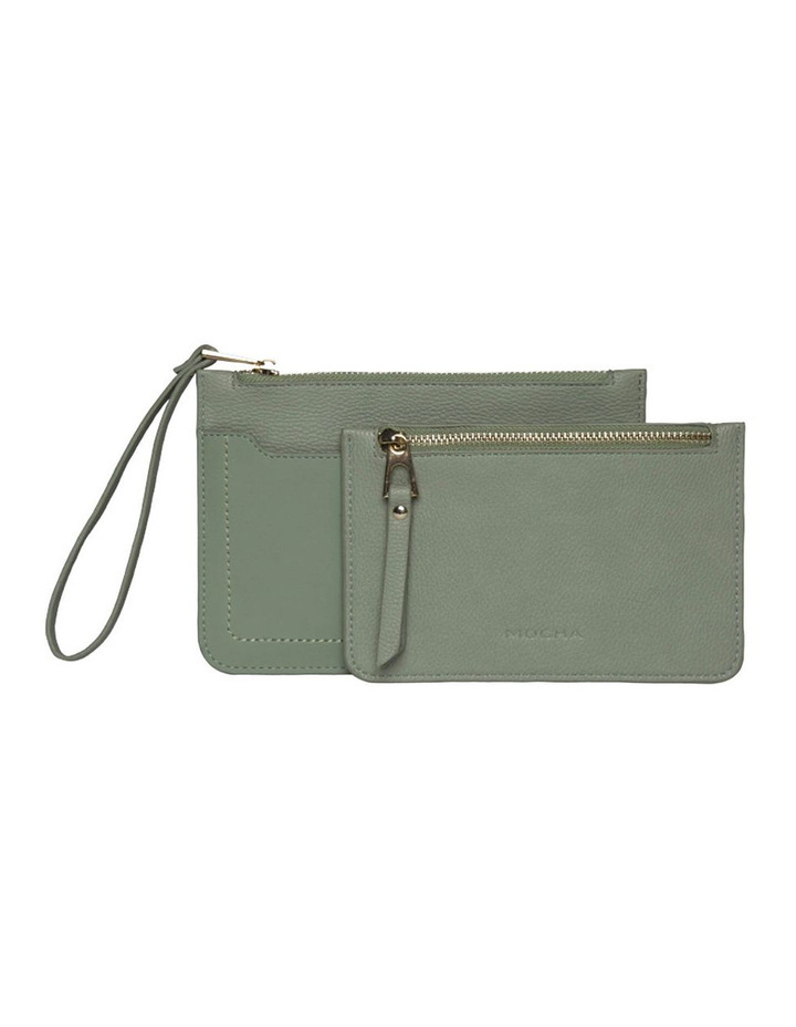 Jana Double Clutch - Mint image 2
