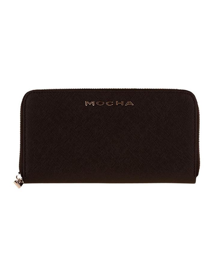 Kylie Leather Wallet - Black image 1