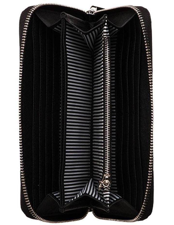 Kylie Leather Wallet - Black image 2