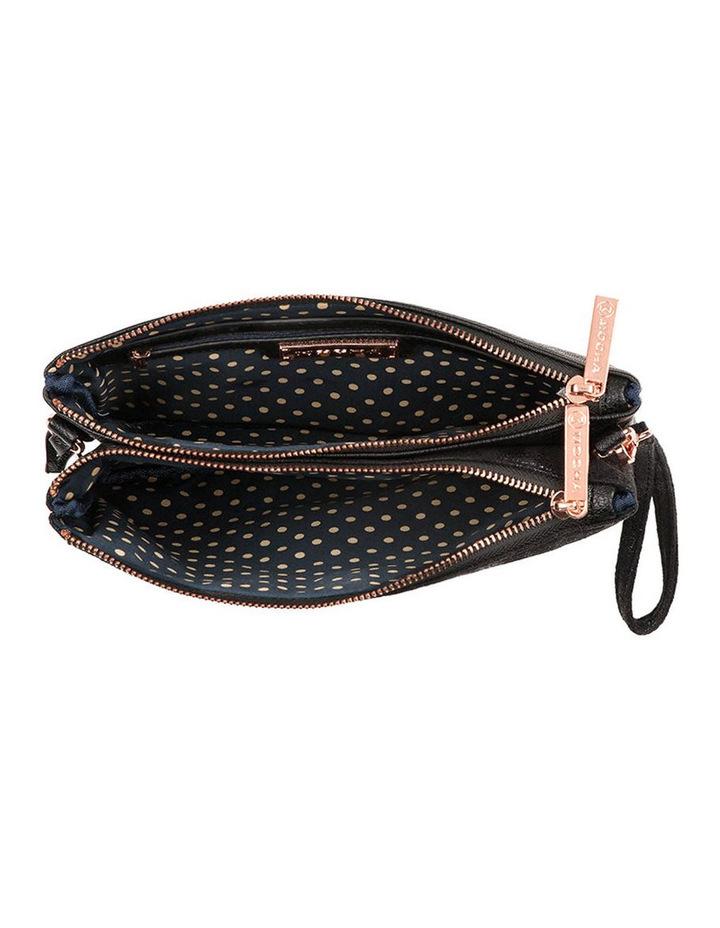 Jessie Crossbody Bag - Metallic Black image 2