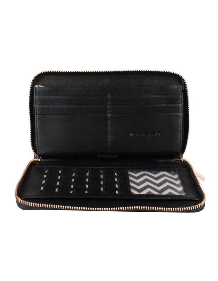 Olivia Leather Wallet - Black/Rg image 2