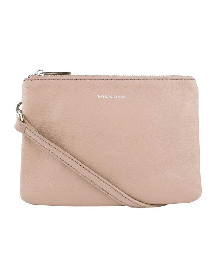 Ella Leather Crossbody Bag - Taupe image 1