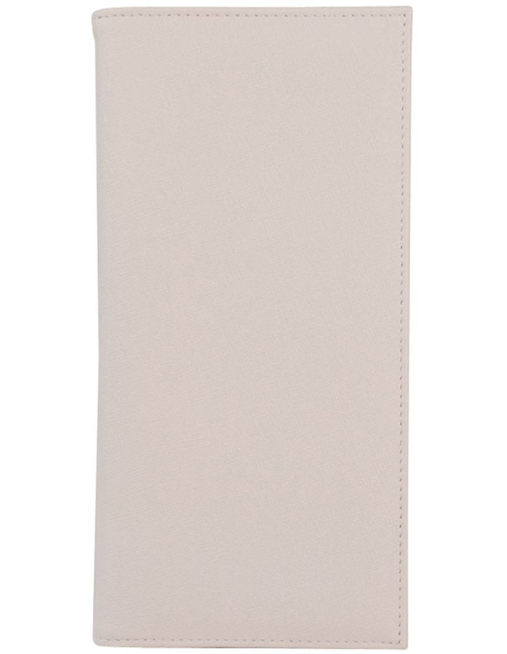 Jane Leather Slim Travel Wallet-Grey image 1