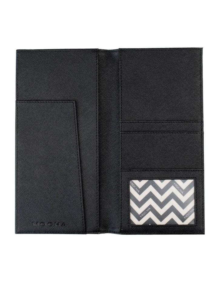 Jane Leather Slim Travel Wallet - Black image 2