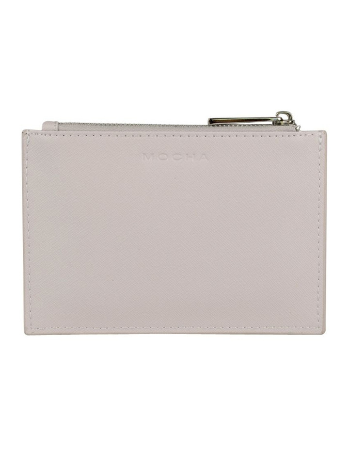 Jane Leather Coin Purse - Grey image 1