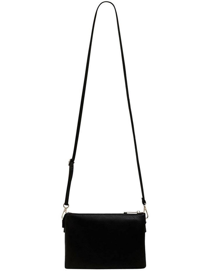 Triple Jessie Crossbody Bag - Black image 1