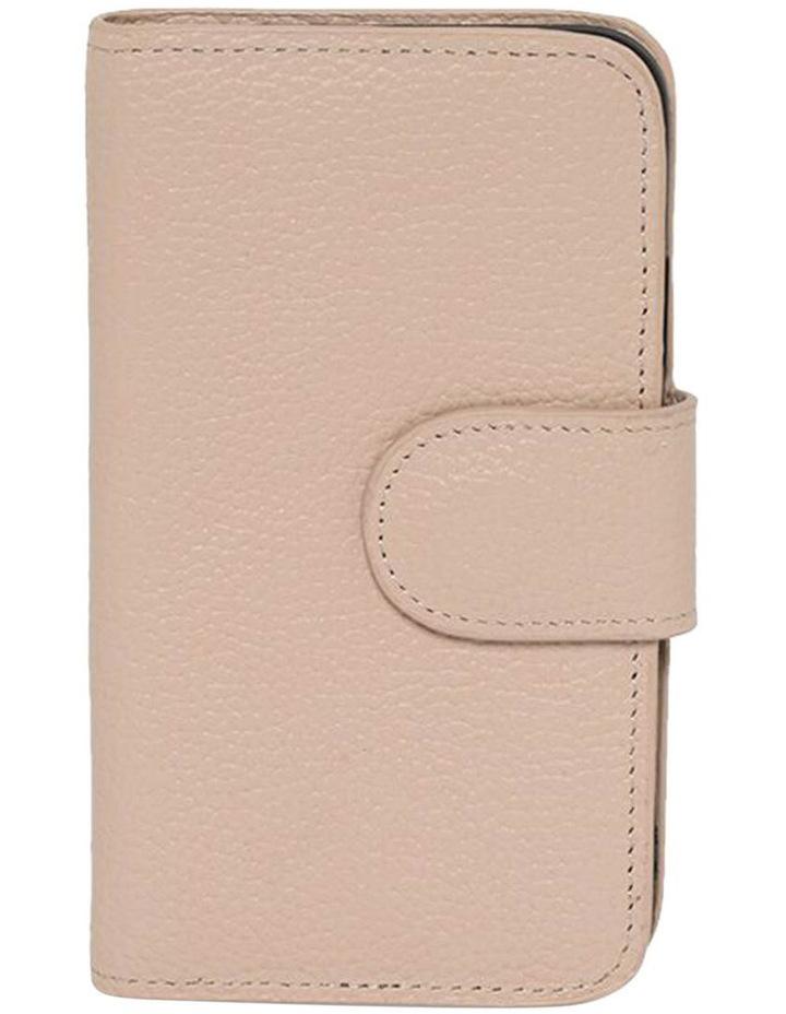 Leather Flip Phone Case Iphone X - Blush image 1