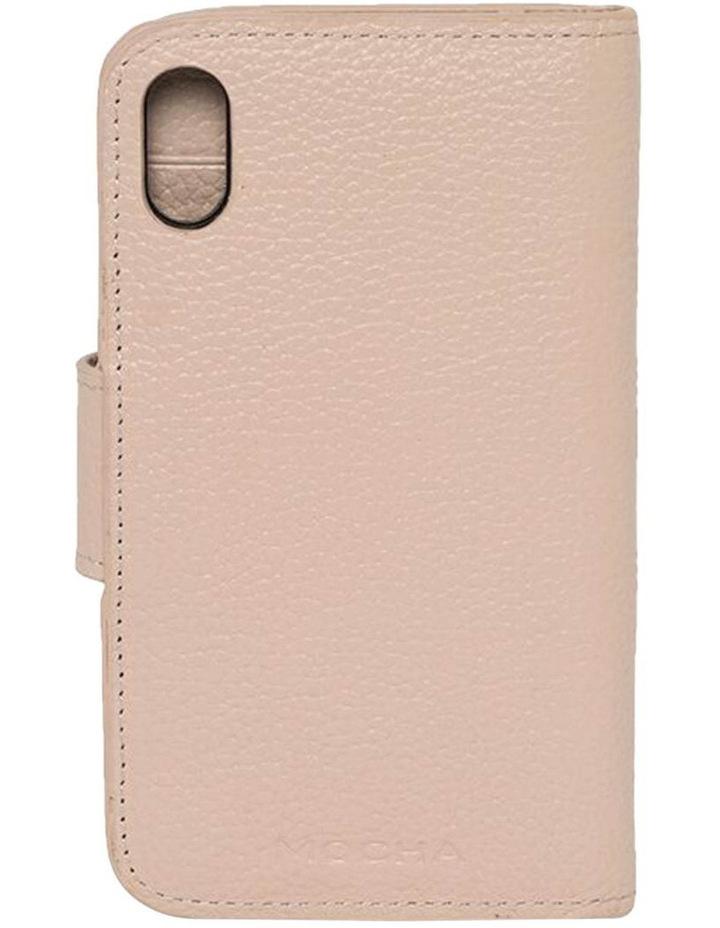 Leather Flip Phone Case Iphone X - Blush image 2