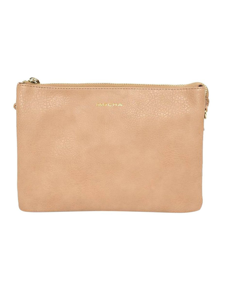 Triple Jessie Crossbody Bag - Tan image 1
