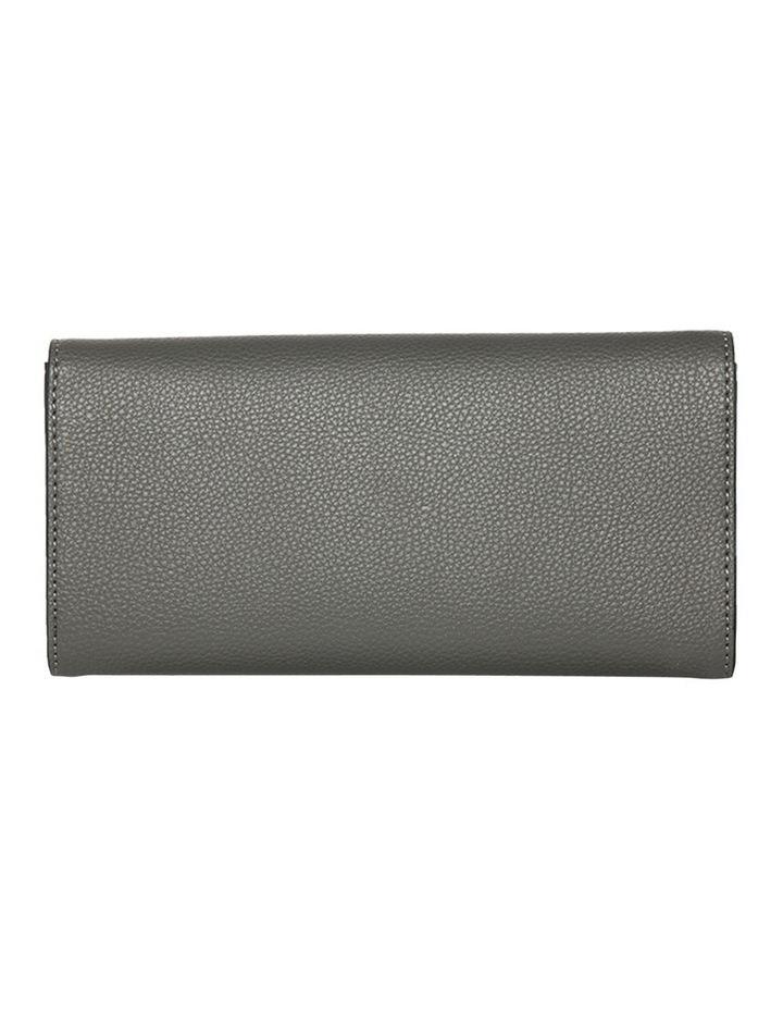 Dual Grey Tone Zip Wallet image 2