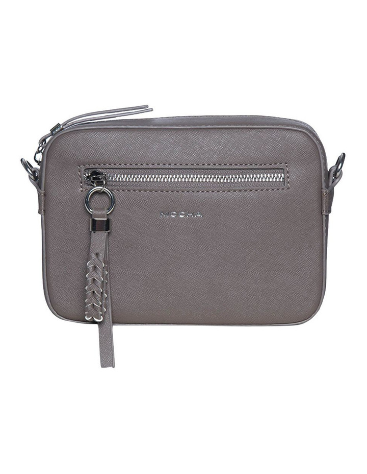 Mimi Pleat Crossbody Bag - Dark Taupe image 1
