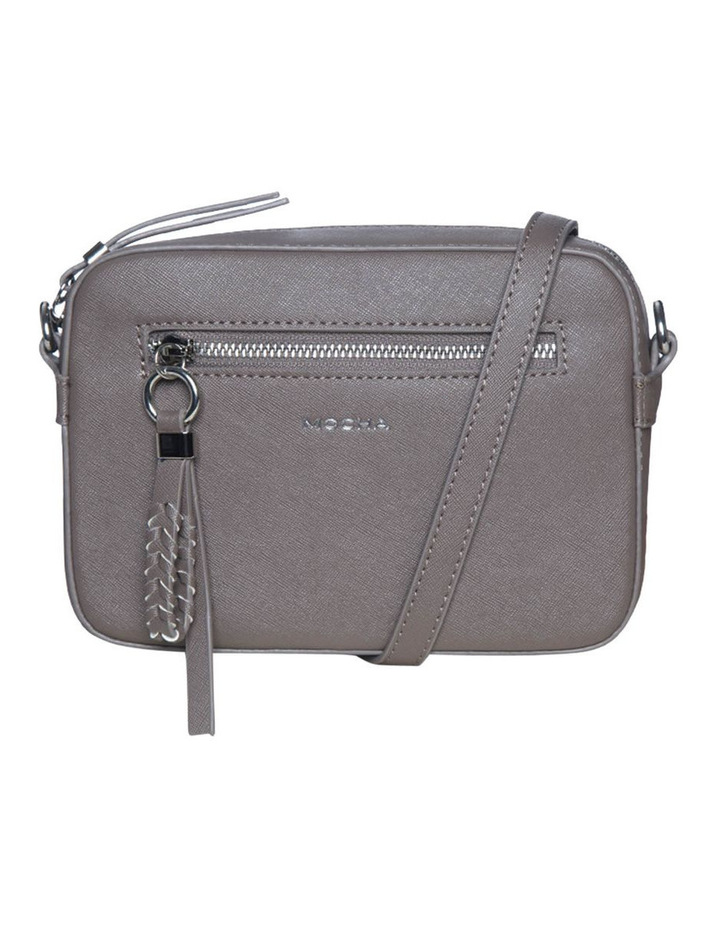 Mimi Pleat Crossbody Bag - Dark Taupe image 2