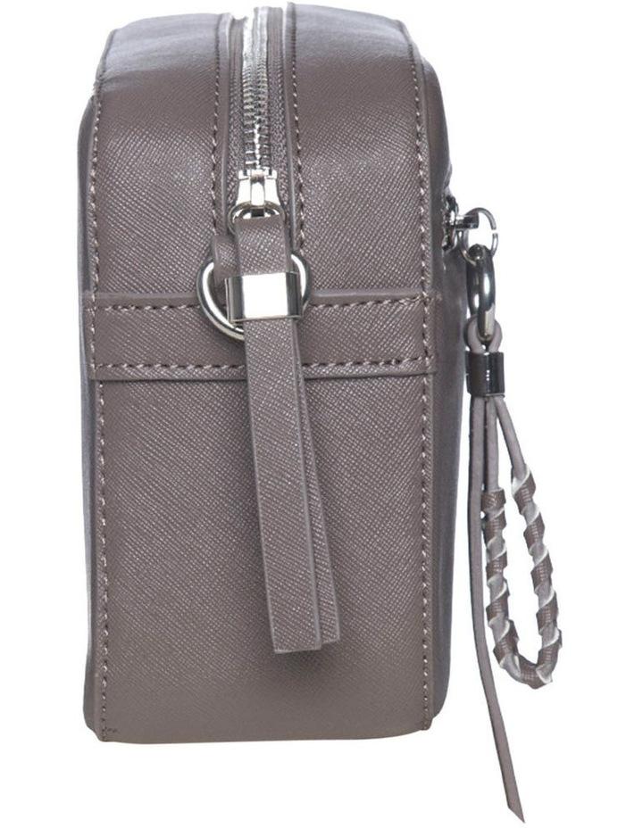 Mimi Pleat Crossbody Bag - Dark Taupe image 3