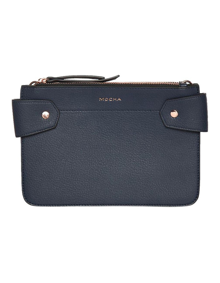 Clip Around Double Bag - Navy image 1