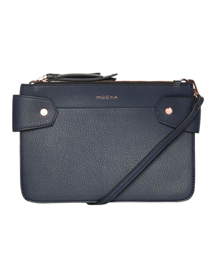 Clip Around Double Bag - Navy image 2