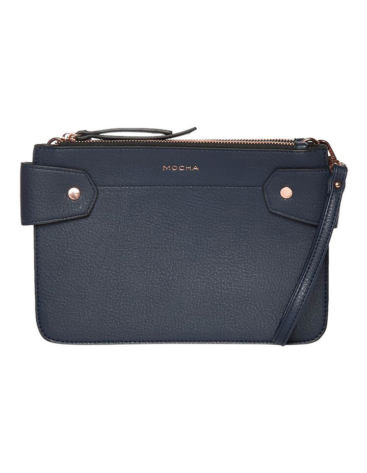 Clip Around Double Bag - Navy image 3