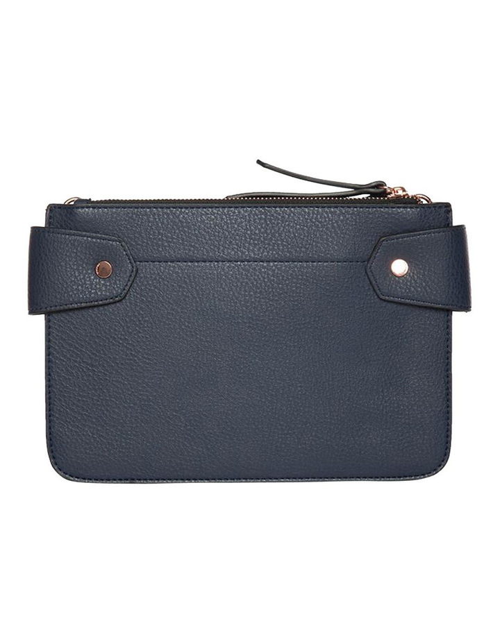 Clip Around Double Bag - Navy image 5