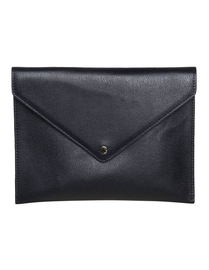 Becca Envelop Clutch - Black image 1
