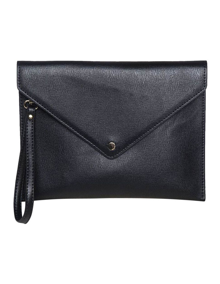 Becca Envelop Clutch - Black image 2