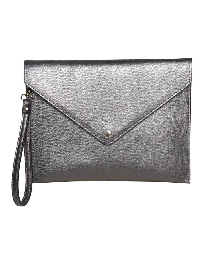 Becca Envelop Clutch - Metallic Grey image 2