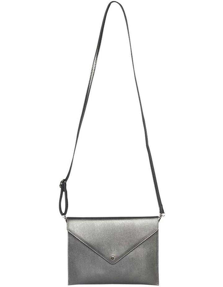 Becca Envelop Clutch - Metallic Grey image 3