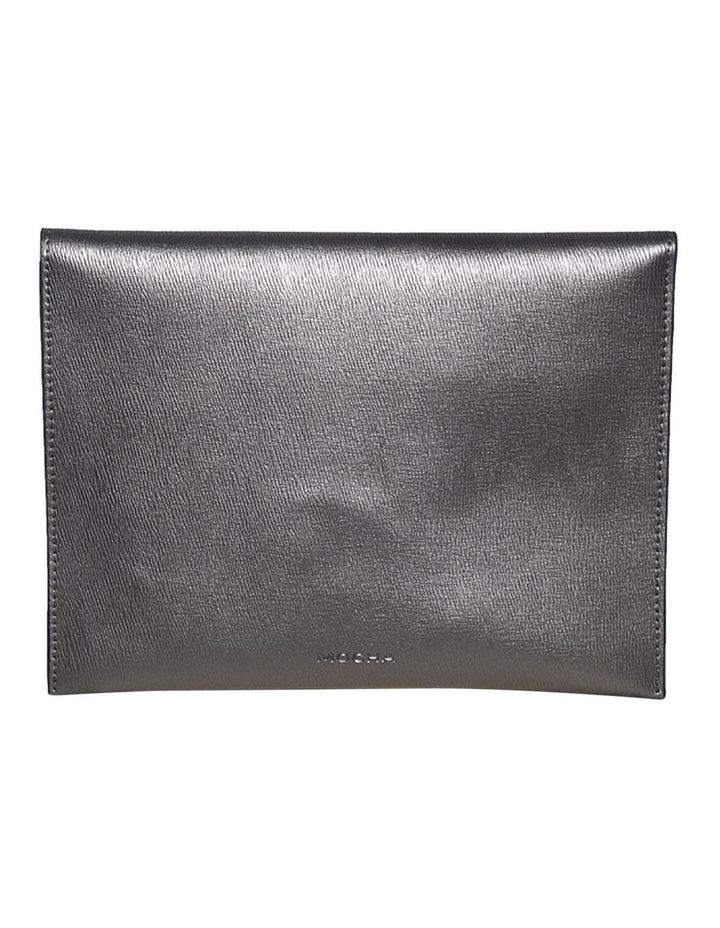 Becca Envelop Clutch - Metallic Grey image 4