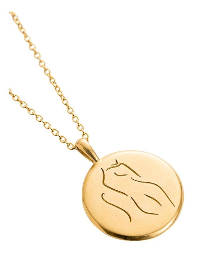 Belief Amulet Necklace w/ 18K Gold Vermeil image 2