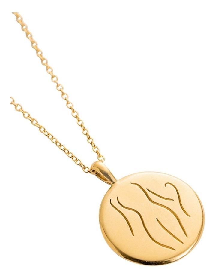 Authenticity Amulet Necklace w/ 18K Gold Vermeil image 2