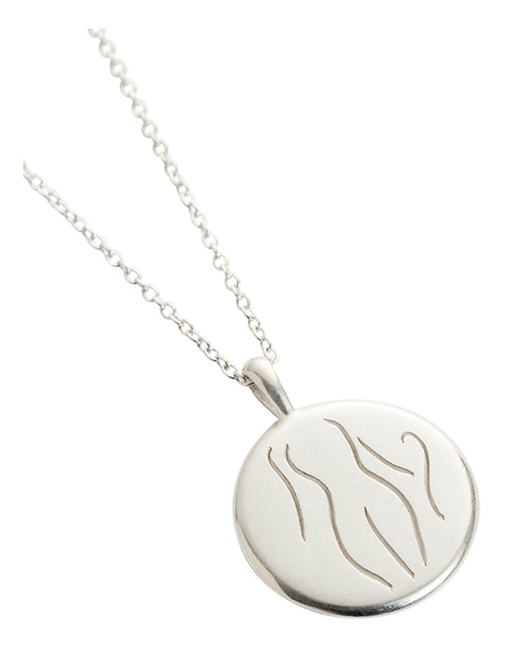 Authenticity Amulet Necklace w/ Sterling Silver image 2