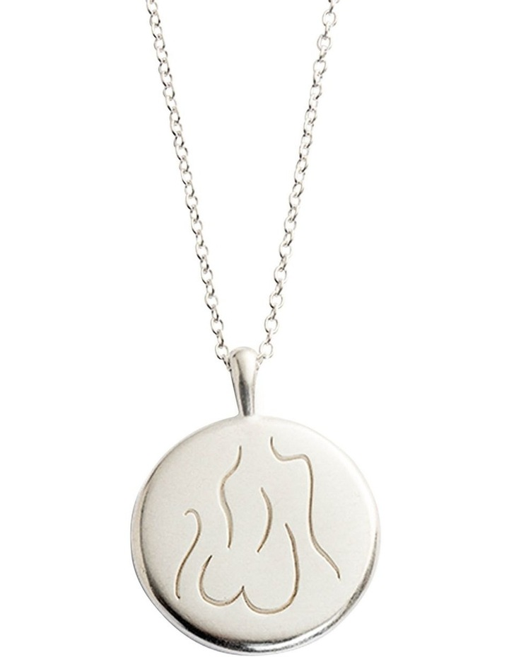 Valour Amulet Necklace w/ Silver image 1