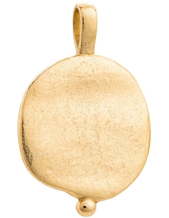 Desert Sun Coin Charm w/ 18K-Gold-Vermeil image 2