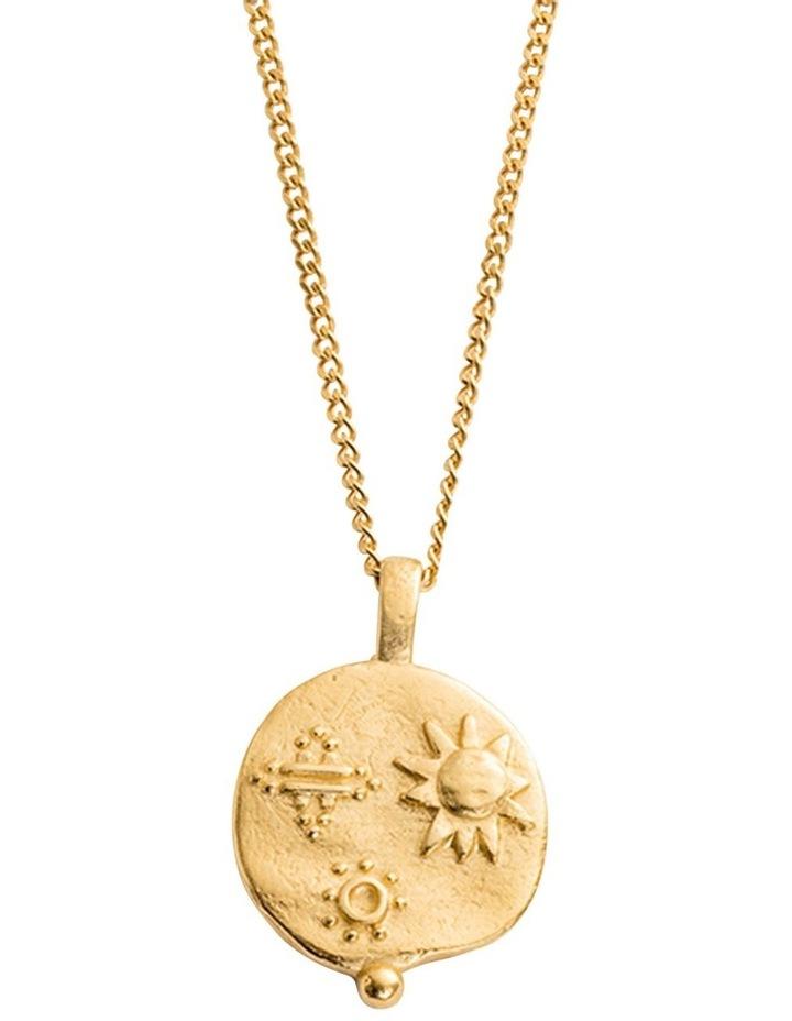 Desert Sun Coin Charm w/ 18K-Gold-Vermeil image 3