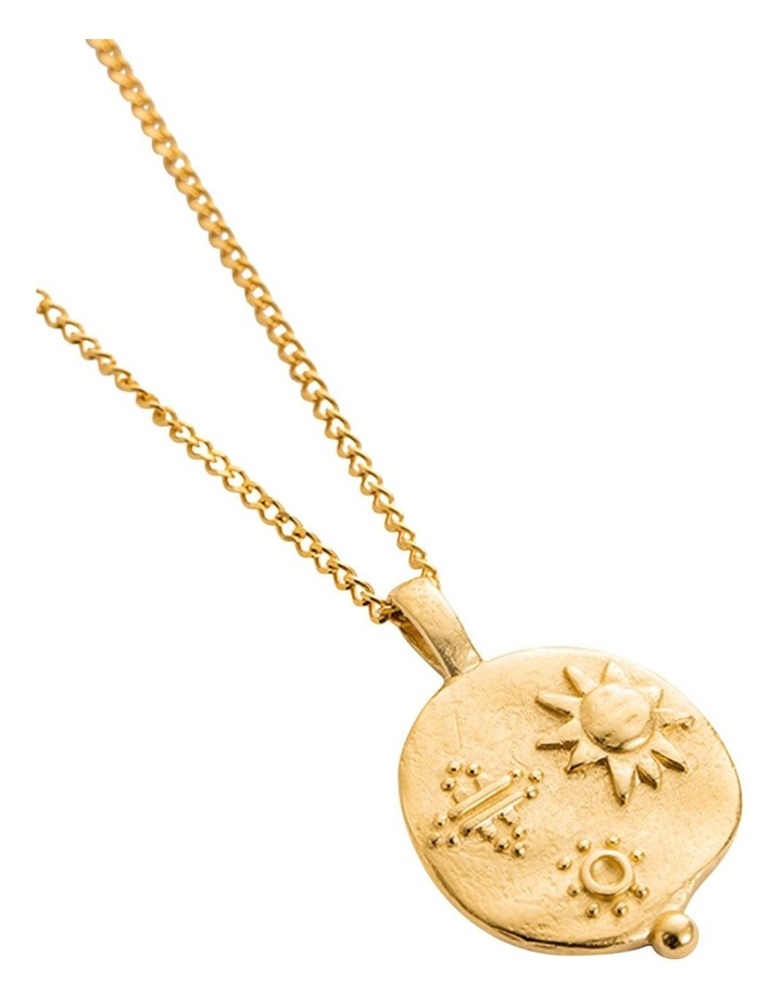 Desert Sun Coin Charm w/ 18K-Gold-Vermeil image 4