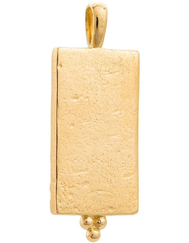 Marrakech Coin Charm w/ 18K Gold Vermeil image 2