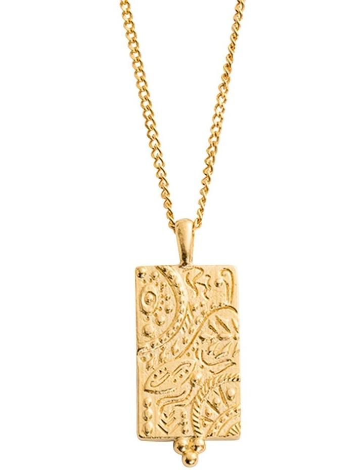 Marrakech Coin Charm w/ 18K Gold Vermeil image 3