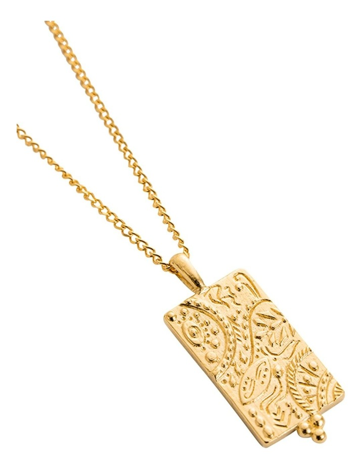Marrakech Coin Charm w/ 18K Gold Vermeil image 4