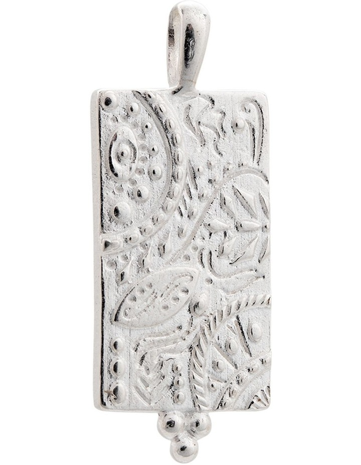 Marrakech Coin Charm w/ Sterling Silver image 1