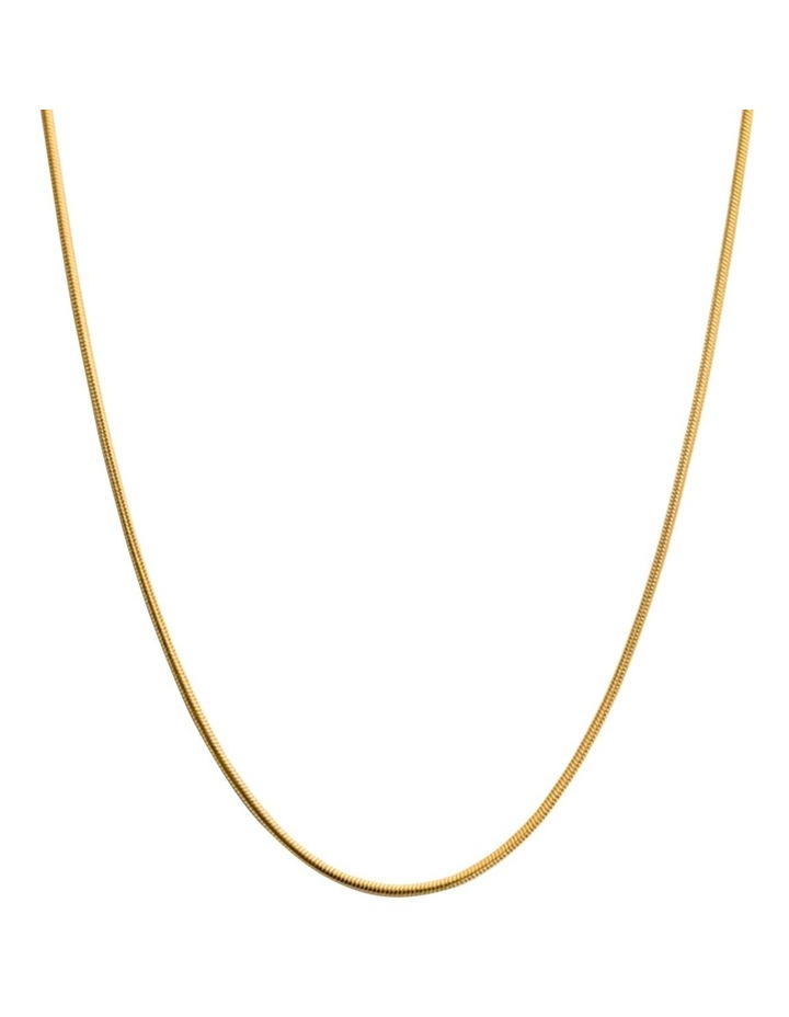 "Snake Chain 18"" Necklace w/ 18K Gold Vermeil image 1"