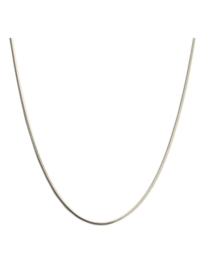 """Snake Chain 18"""" Necklace w/ Sterling Silver image 1"""