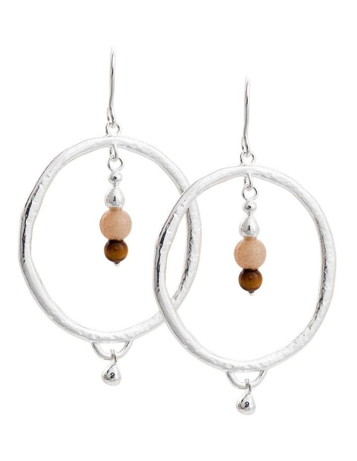 Artisan Hoop Earring Set w/ Sterling Silver image 1