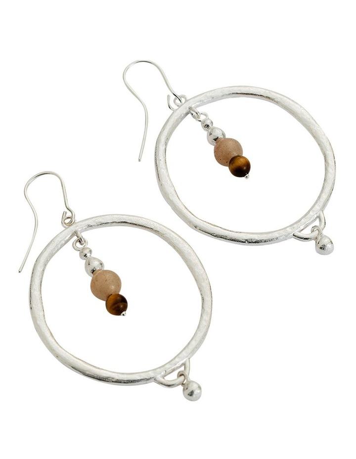 Artisan Hoop Earring Set w/ Sterling Silver image 2