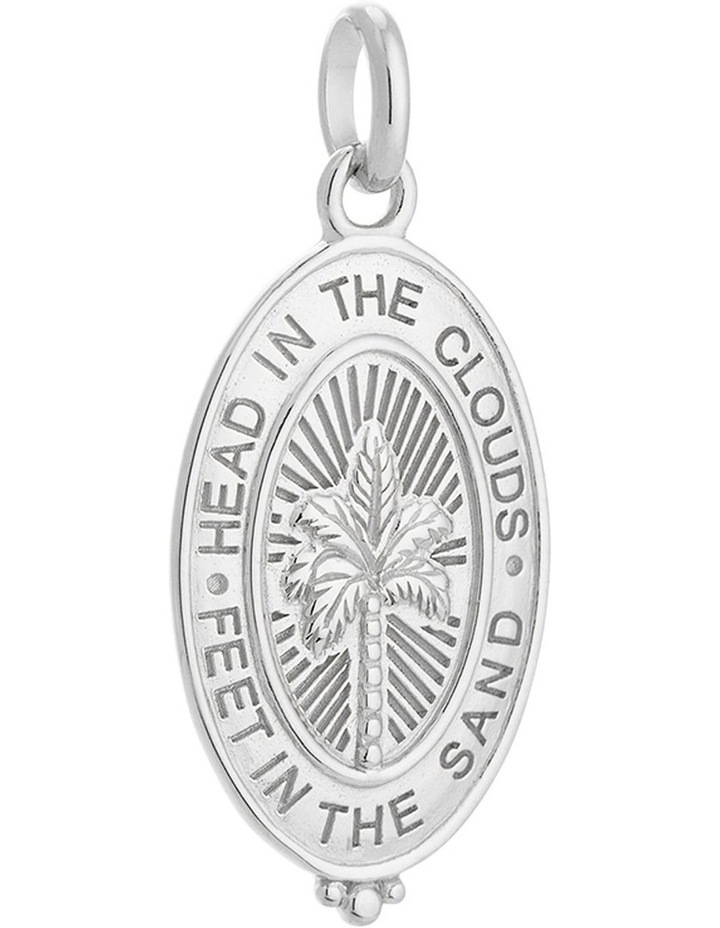 Palm Coin Charm w/ Sterling Silver image 1