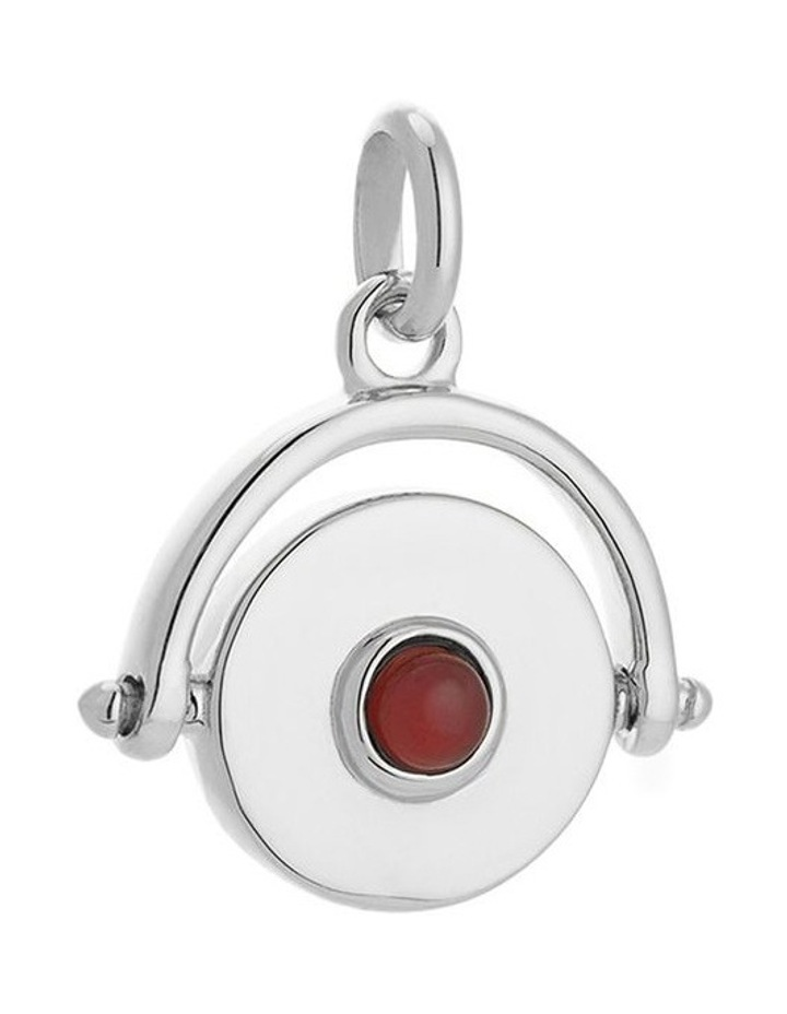 Protection Spinner Charm - Sterling Silver image 1