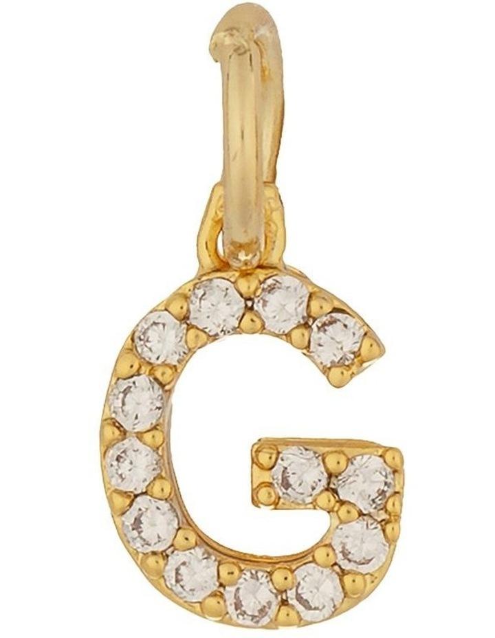Letter Charm Gold - G image 1