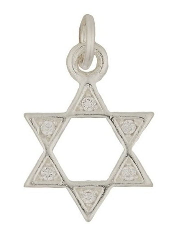 Star Of David Sterling Silver Charm image 1