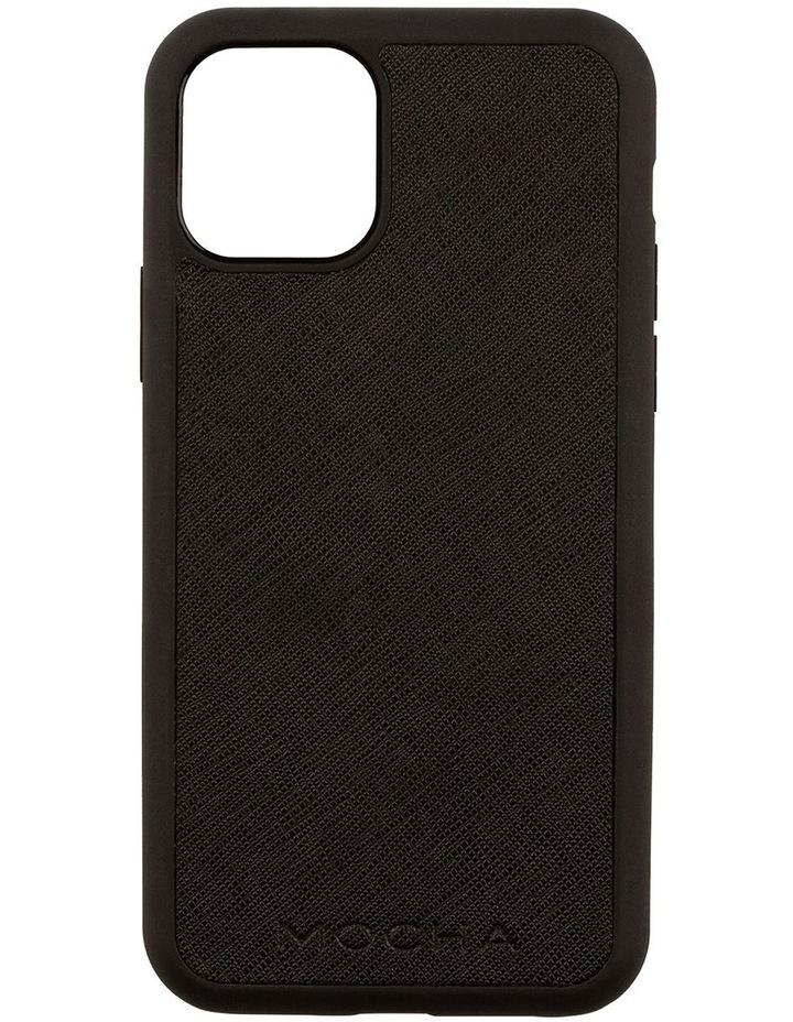Jane Leather Hard Case For iPhone 11 Pro - Black image 1