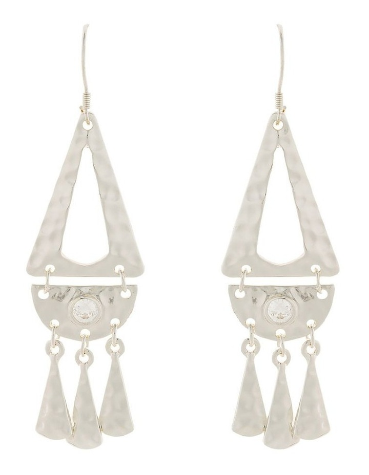 Faithful Earrings-Silver image 1
